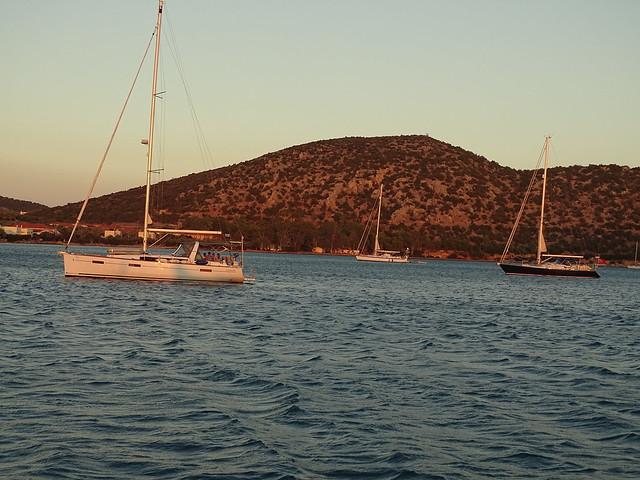 Yachten in der Bucht
