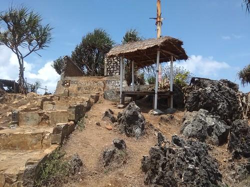 Gazebo di puncak pulau drini