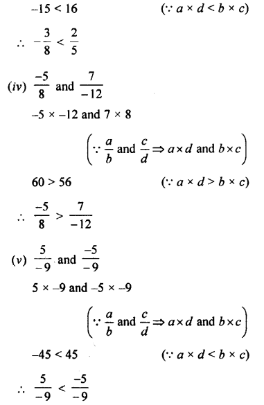 Selina Concise Mathematics class 7 ICSE Solutions - Rational Numbers-b3.....