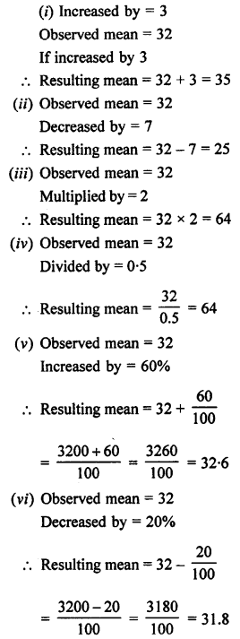 Selina Concise Mathematics class 7 ICSE Solutions - Data Handling