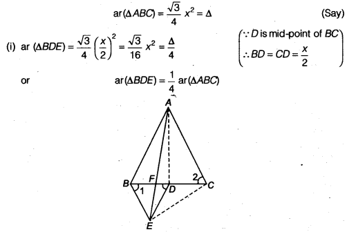 tiwari academy class 9 maths Chapter 10 Areas of Parallelograms and Triangles 10.4 5a