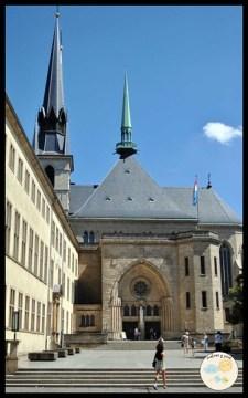 Luxemburgo con niños. Catedral de Notre Dame