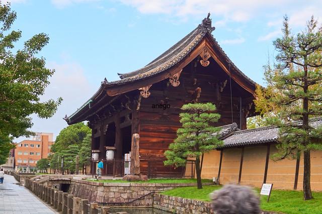 東寺 九条の門