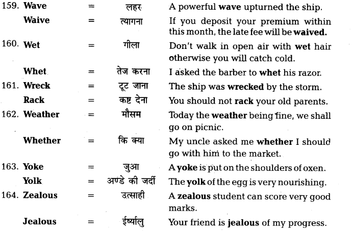 UP Board Solutions for Class 11 English Vocabulary Chapter 7 Homophones 40
