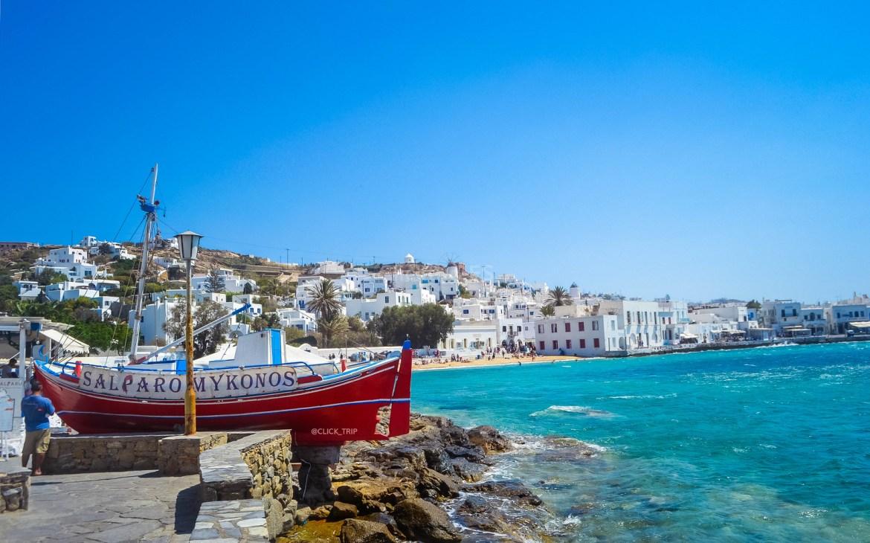 Qué ver en Mykonos | Puerto viejo | Islas Griegas | ClickTrip.ES