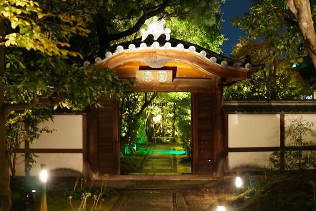 圓徳院 門