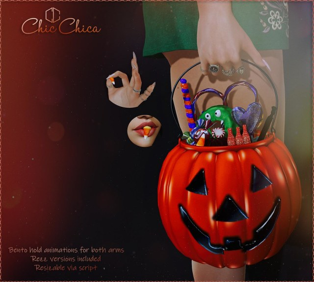 Pumpkin bucket by ChicChica OUT @ Blush
