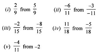 Selina Concise Mathematics class 7 ICSE Solutions - Rational Numbers-c5
