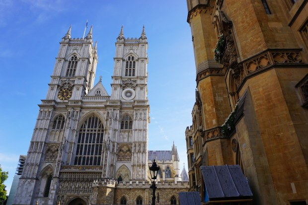 Westminster Abbey facade