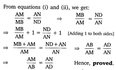 NCERT Solutions for Class 10 Maths Chapter 6 Triangles 8