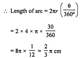 RD Sharma Class 10 Solutions Chapter 13 Areas Related to Circles Ex 13.2 - 1