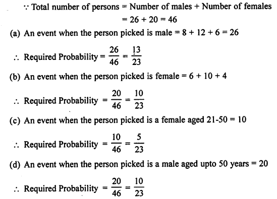 Selina Concise Mathematics class 7 ICSE Solutions - Probability-7b