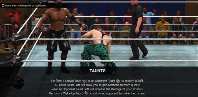 WWE 2K19 Taunts