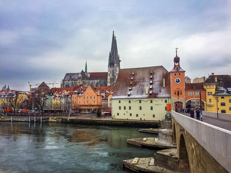 Regensburg en un día | Puente de piedra | ClickTrip.ES
