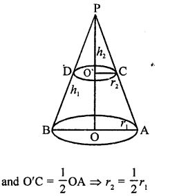 RD Sharma Book Class 9 PDF Free Download Chapter 20 Surface Areas and Volume of A Right Circular Cone