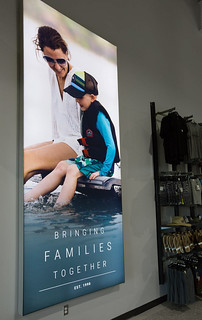 Action Water Sports Lightbox Displays