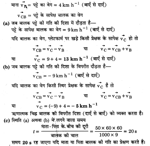 UP Board Solutions for Class 11 Physics Chapter 3 Motion in a Straight Line 25..