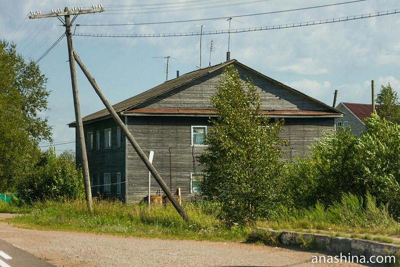 Старый дом, Карелия