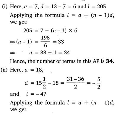 NCERT Solutions for Class 10 Maths Chapter 5 Arithmetic Progressions 26