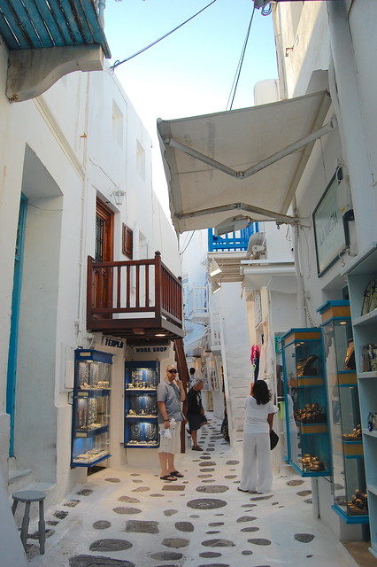 Get lost in the alleyway