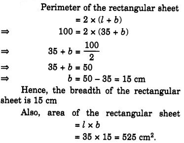 NCERT Solutions for Class 7 Maths Chapter 11 Perimeter and Area 5