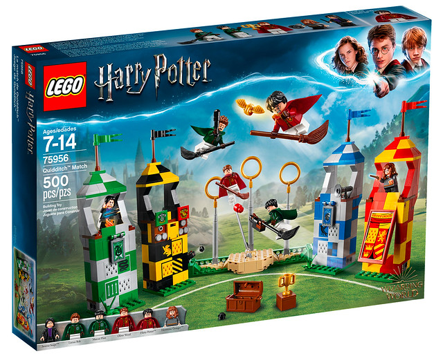 REVIEW LEGO Harry Potter 75956 Quidditch Match