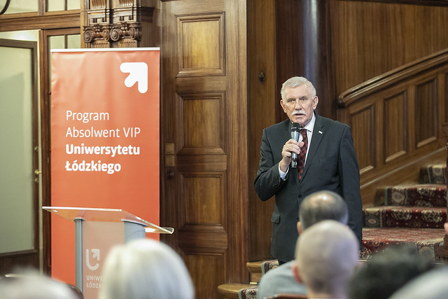 Podpisanie umowy z PwC, wykład ekspercki prezesa PwC Adama Krasonia i wręczenie kolejnych tytułów Absolwenta VIP UŁ