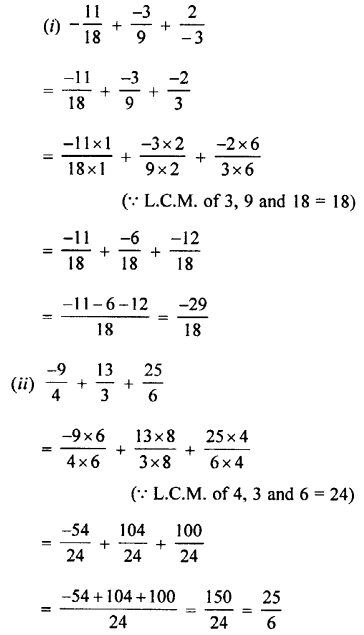 Selina Concise Mathematics class 7 ICSE Solutions - Rational Numbers-c4..