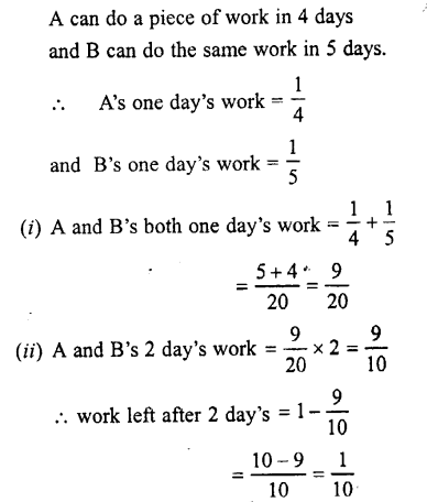 Selina Concise Mathematics class 7 ICSE Solutions - Unitary Method (Including Time and Work)-c3