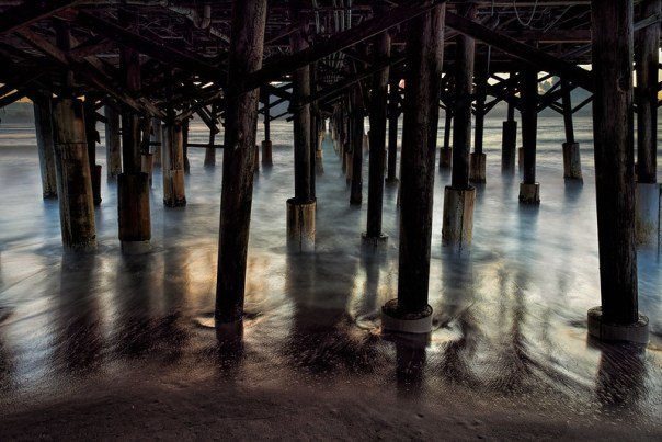 Neath the pier
