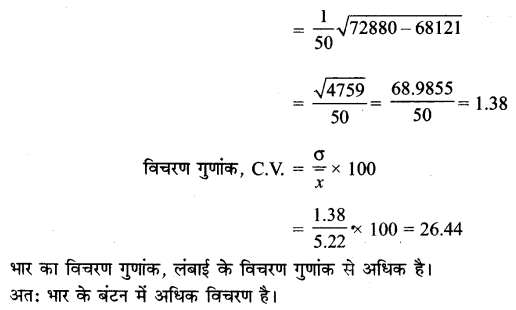 UP Board Solutions for Class 11 Maths Chapter 15 Statistics 15.3 5.3