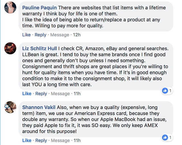 Advice for buying quality goods