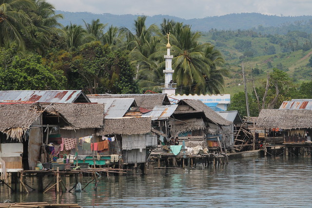 Stilted village at Panubigan