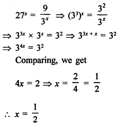 RD Sharma Class 9 Solutions Chapter 2 Exponents of Real Numbers Ex 2.2 - 9a
