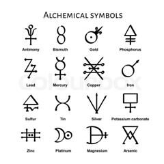 al symbols see photo - phosporus?