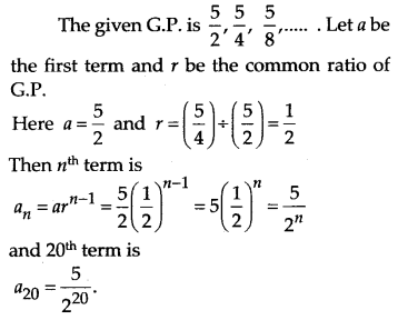 NCERT Solutions for Class 11 Maths Chapter 9 Sequences and Series 34
