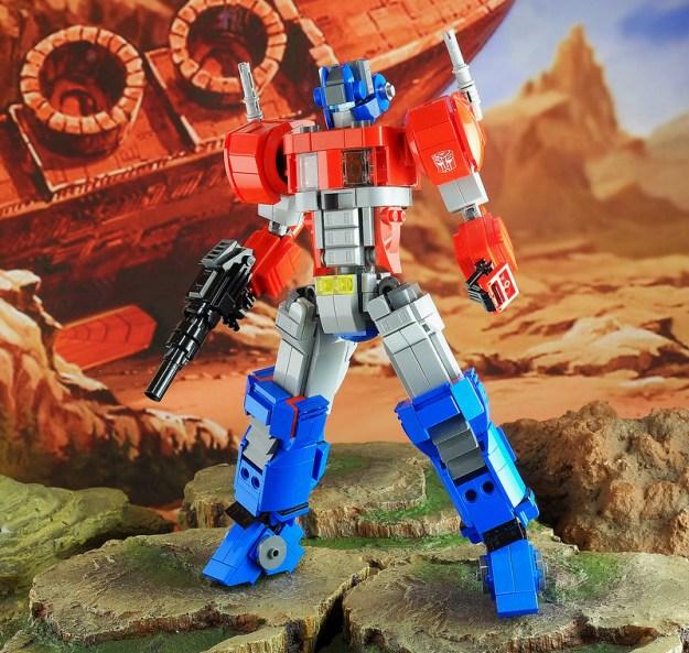 "Lego FA-04 ""Optimus Prime"""