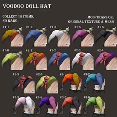 *NAMINOKE*VooDooDoll Hat Gacha