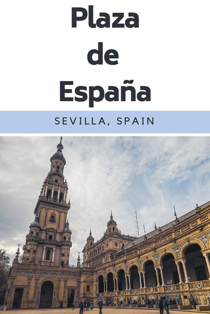 Plaza de España - Sevilla, Spain One of the most beautiful places in Sevilla has to be Plaza de España. With a gorgeous exterior complete with canal to the stunning tile work inside, you won't be disappointed with this place. #sevilla #spain #spaintravel