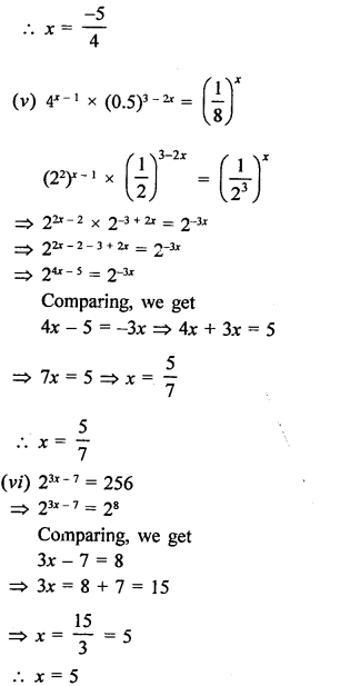 RD Sharma Class 9 Solutions Chapter 2 Exponents of Real Numbers Ex 2.1 - 8aa