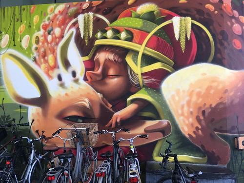 Hasselt street art, Animalito