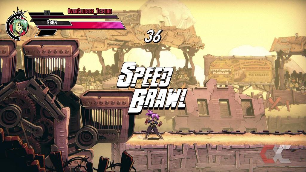 Speed Brawl - Overcluster 02