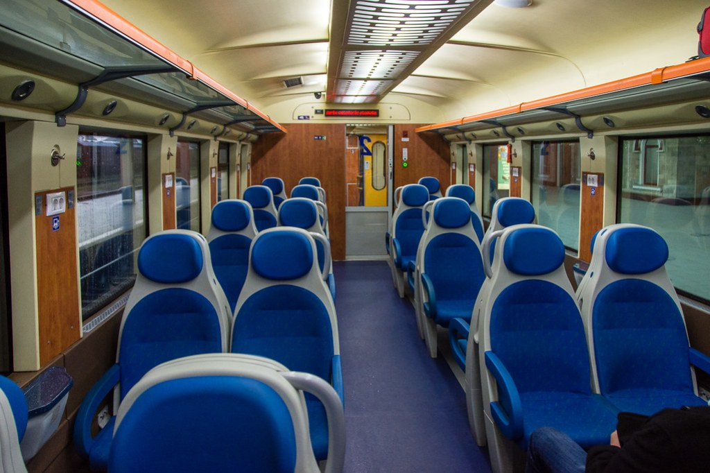 modern train from Chisinau to Odessa