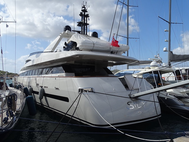 Not my yacht