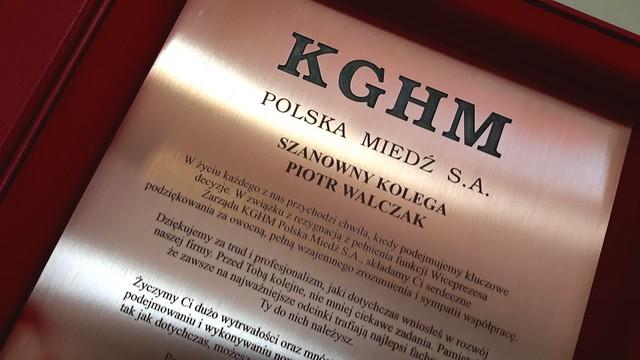 dyplom grawerowany w miedzi