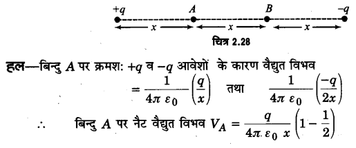 UP Board Solutions for Class 12 Physics Chapter 2 Electrostatic Potential and Capacitance SAQ 5