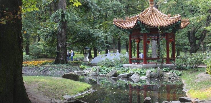 The Lazienki Royal Park, Warsaw, Poland