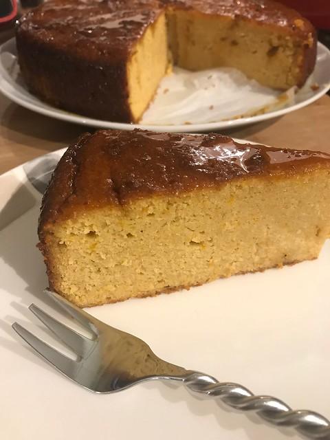 Bitter Orange & Polenta Cake
