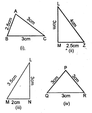 Selina Concise Mathematics Class 6 ICSE Solutions - Triangles (Including Types, Properties and Constructions) -a9