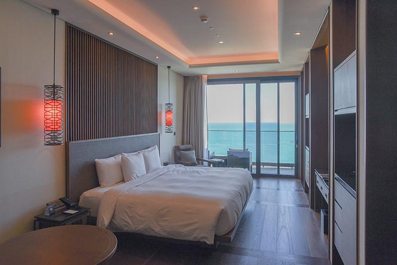 Hilton Busan Premium Oceanview Room